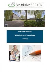 Flyer Berufsfachschule Wirtschaft & Verwaltung
