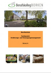 Flyer Berufsschule Agrarwirtschaft - Bäcker/in