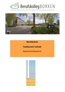 Flyer Berufsschule Technik - Bauzeichner/in