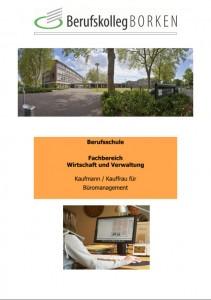 Flyer Berufsschule Wirtschaft & Verwaltung - Bürokaufmann/ -kauffrau