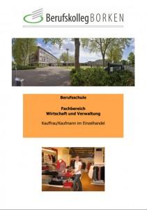 Flyer-Berufsschule-Borken-Einzelhandelskaufmann