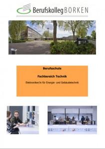 Flyer Berufsschule - Elektroniker