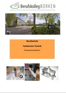 Flyer Berufsschule Metall & Elektro - Feinmechaniker