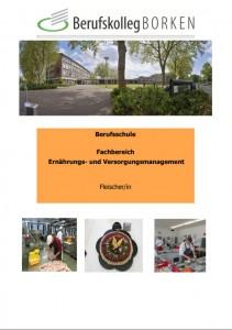 Flyer Ausbildungsberuf Fleischer/in