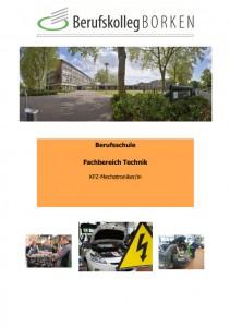 Flyer Berufsschule Metall & Elektro - KFZ-Mechatroniker