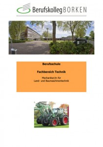 Flyer Berufsschule Metall & Elektro - Mechaniker/in