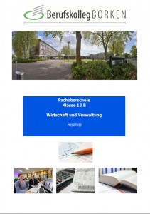 Flyer Fachoberschule Wirtschaft und Verwaltung