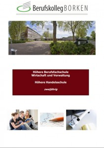 Flyer Höhere Handelsschule