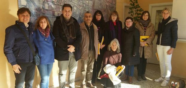 Erasmus plus Barcelona Buergermeister