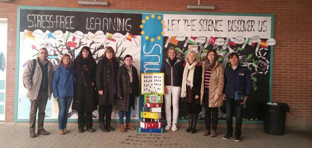 Erasmus plus-Treffen in Barcelona