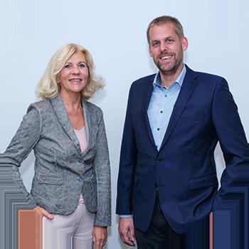 Annette Sühling und Stefan Bäumer